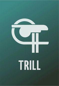 The symbol of Trill.