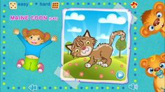 123 Kids Fun Apps - #puzzle for #kids.  #puzzle #cat #kids #animals #vegetables #toys