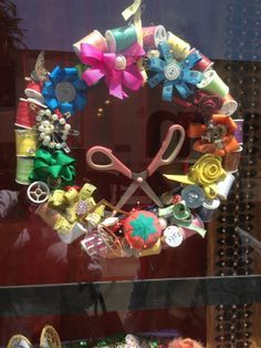 quilting shops windows displays - Google Search