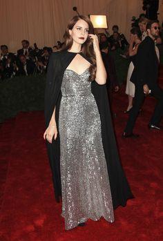 Lana Del Rey au Met Ball 2012
