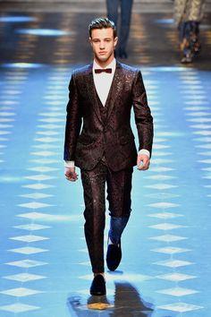 Cameron Dallas at the Dolce & Gabbana Men's Fashion Show