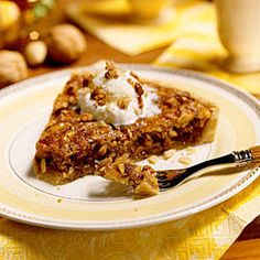 Apricot-Nut Tart - Our Best Tart Recipes - Southernliving. A sweet and gooey concoction of brown sugar fills this delicious tart. Almonds, pecans, and walnuts add great texture, while dried apricots add even more flavor.Recipe: Apricot-Nut Tart