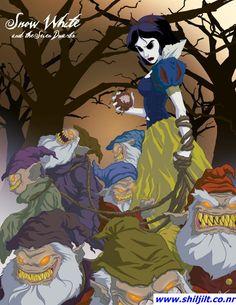 """Princesas """"demoníacas"""" Disney - Blancanieves"""