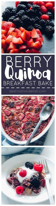 Berry Quinoa Breakfast Bake