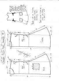 Схемы моделирования Платья Дотти Ангел размер 48.