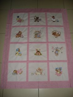 Baby quilt for my grandaughter