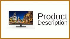 Seiki Pro SM32UNP 32 inch Screen 4K LED Lit Monitor