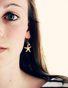 Boucles d'oreilles Seastar par NestPrettyThingsShop sur Etsy