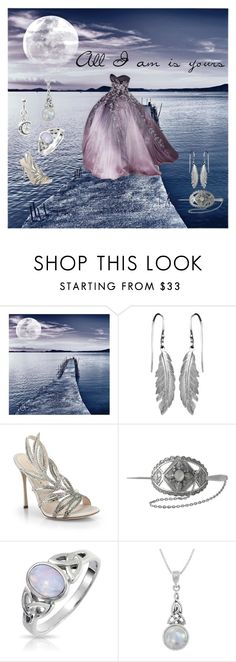 """""""All I am is yours..."""" by mishmoranville ❤ liked on Polyvore featuring Universal Lighting and Decor, Sergio Rossi, Bling Jewelry, Carolina Glamour Collection and Misbehave"""
