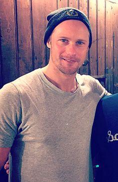 He looks hot in a beanie <3