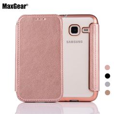 Flip Stand Cover Case For Samsung Galaxy J1 J100 J1ACE J110 J1mini J105 Wallet Pouch ProtectiveTPU Back Cover PU Leather Case