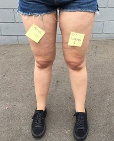"""You can't spell """"cellulite"""" without """"u lit."""" Chrissy Mahlmeister shares how she learned to love her cellulite: Normal Body, Real Bodies, Running For Beginners, Body Confidence, Learn To Love, Body Image, Mannequins, Perfect Body, Girl Power"""