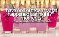 Before I Die Bucket Lists | before i die (bucket list) / DONE!