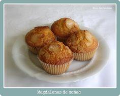 Bloc de recetas: Magdalenas de coñac