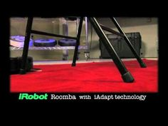 iRobot Roomba® Vacuum Cleaning Robot Chair Escape Demo