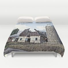 Wisconsin Old Barn 3 Duvet Cover by Photography By MsJudi - $99.00