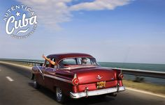 Classic cars in Cuba! Most are not this nice looking but very symbolic of Cuba and the embargo!