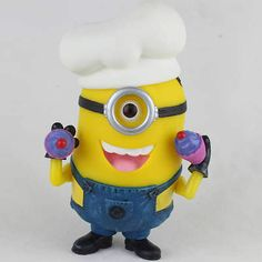 Despicable Me 2 Minion Ninja Mini Figure BRAND Hula