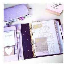 I love this Kikki-K planner And.this is my kikki-k planner set up~I spent a whole day to decorate my Kikkik a. Kikki K Planner, Cute Planner, Happy Planner, Creation Deco, Planner Decorating, Day Planners, Planner Organization, Printable Planner, Printables