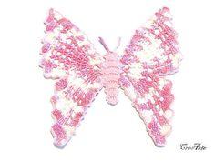 Crochet small doily Crochet Pink coasters by CreArtebyPatty