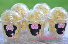 Kids Party CupsMINNIEMouse Party Decor1st by SignatureAvenue, $12.40 Mickie Mouse Party, Minnie Mouse Rosa, Minnie Mouse Favors, Minnie Mouse Party Decorations, Mouse Parties, Birthday Party Decorations, Baby Birthday Cakes, Mickey Mouse Birthday, 1st Birthday Parties