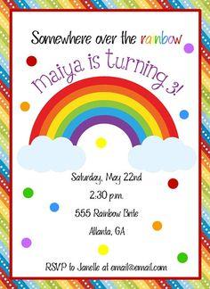 Cute invitation idea.
