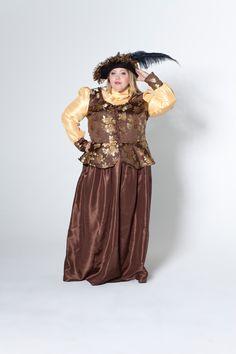 Deiters, Kostüm, Fasching, Karneval, Plus Size, Viktorianerin, Kleid