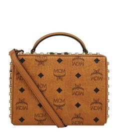 MCM Berlin Cross Body Box Bag | Harrods