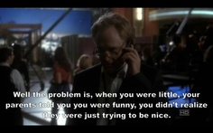 Danny telling Matt what his problem is. Studio 60, West Wing, Pure Genius, Sunset Strip, Tv Quotes, Me Tv, Sarcastic Quotes, Funny Sayings, Films
