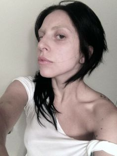 Lady Gaga is literally effortless with her beautiful no filter #selfie!