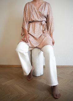 2/3, AS A KIMONO💕   3 ways to wear NEVA wrap dress! This is the second of all 3! Which one is your favourite?  #myhálo #scandinavian #scandi #scandinavianfashion #nordic #nordicstyle #finnish #finnishdesign #finnishfashion #nordicdesign #vogue #elle #cosmopolitan #halofromnorth #hálo #follow #netaporter #nordstrom #mytheresa #ssense #outfit #ootd #fashion #NYTIMES #inspiration #original #inspo #fashioninspiration #whattowear #whowhatwear Nordic Design, Nordic Style, Scandinavian Fashion, French Seam, Ootd Fashion, Cosmopolitan, Who What Wear, Ny Times, Print Design