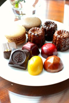 Chocolates, Macarons & Canele @ Blue Bar @Four Seasons Hotel Hong Kong