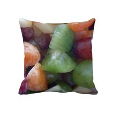 Fruit cushions. By ccrcats. If you like you can buy at http://www.zazzle.com/fruit_cushions-189318763574545493