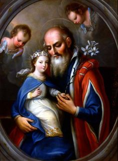 La Vierge enfant avec Saint Joachim New Images for Sept. The Feast day of the Nativity of the Blessed Virgin Mary Mother Mary Quotes, Blessed Mother Mary, Blessed Virgin Mary, Catholic Art, Catholic Saints, Religious Images, Religious Art, Saint Joachim, Jesus E Maria