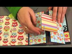Mini álbum Scrapbook ( desplegable) - YouTube