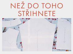 Návody na šití zdarma (300+ jednoduchých postupů) na Prošikulky.cz ✂ Sewing, Dressmaking, Couture, Stitching, Sew, Costura, Needlework