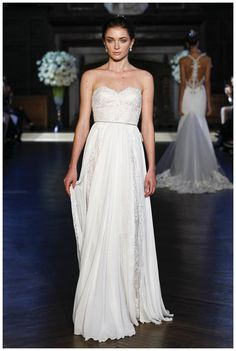 Wedding dress from the Alon Livne White 2016 Couture Collection.