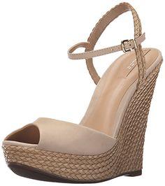 Aldo Women's Shizuko Dress Sandal, Bone, 8 B US