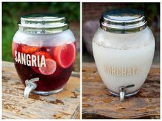 5 ideas para una barra libre de bebidas