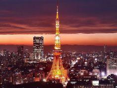 Japan | Tokyo-Tower-Japan-Night-Wallpaper