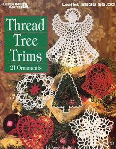 Thread Tree Trims 21 Ornaments - orsosolo2 - Álbuns da web do Picasa.. Free book!