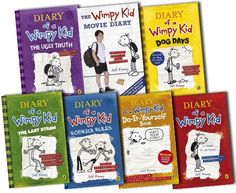 Diary Of A Wimpy Kid Collection 7 Books Set Pack By Jeff Kinney by Jeff Kinney http://www.amazon.com/dp/B005KPNK2U/ref=cm_sw_r_pi_dp_U-9Vub1VTZ53B