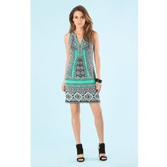 6f593ea9483 Hale Bob Lola Jersey Dress ( 128) ❤ liked on Polyvore featuring dresses