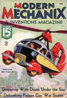 Modern Mechanix and Inventions Magazine imagine the future.