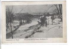 Ottaquechee River in Winter-Woodstock,Vermont 1907