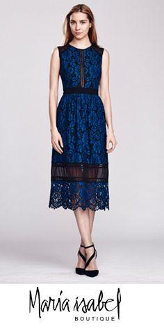 Vestido Corto. Boutique Maria Isabel