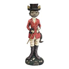 Design Toscano Tally Ho Equestrian Fox Hunt Statue >>> Find out more about the great product at the image link. (This is an affiliate link) Garden Animal Statues, Outdoor Garden Statues, Garden Animals, English Country Decor, Tally Ho, Crushed Stone, Art Sculpture, Sculptures, Fox Hunting