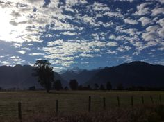 Mount Cook early in the morning