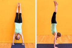 So You Want to Do a Handstand | Greatist | really great how to explaining the way to build up to handstands