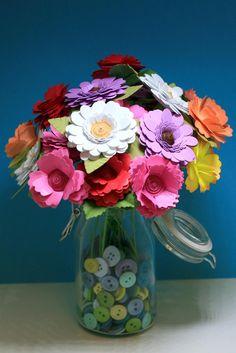 Quilled Paper Flowers - Scrapbook.com